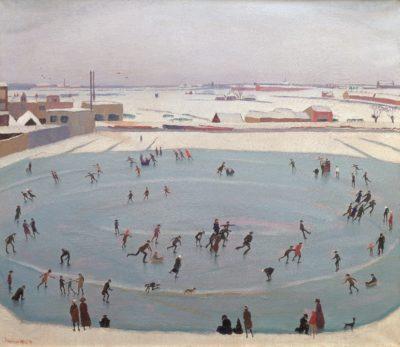 johan-van-hell-schaatsenrijders-1919-collectie-museum-petit-palais-geneve